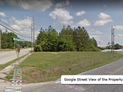Corner Lot Can Be Rezoned Commercia : Sylvania : Screven County : Georgia