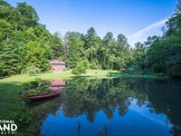 Secluded Mountain Cabin on 103 Acre : Black Mountain : Buncombe County : North Carolina