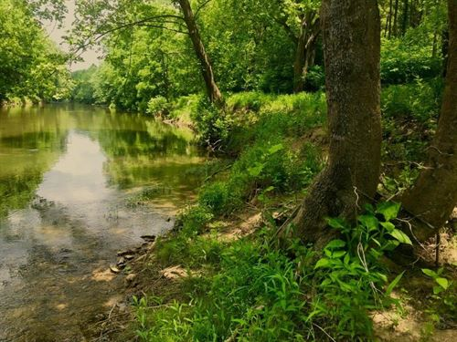 Little River Frontage Land Without : Riner : Floyd County : Virginia