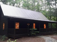 Cozy Log Home State Lake Property : Stuart : Patrick County : Virginia