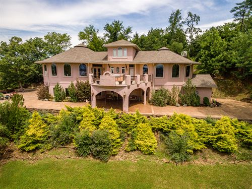 Luxury Douglas Lake View Home : Dandridge : Jefferson County : Tennessee