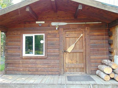 1 Bdrm Kasilof Cabin on 1.35 Acres : Kasilof : Kenai Peninsula Borough : Alaska