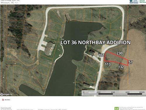 Lake Lot Lake Thunderhead North MO : Unionville : Putnam County : Missouri