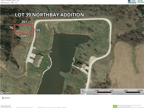 Lake Thunderhead Lot in North MO : Unionville : Putnam County : Missouri