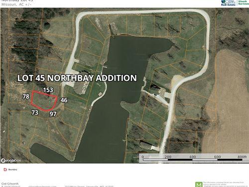 Lake Thunderhead Lot For Sale : Unionville : Putnam County : Missouri