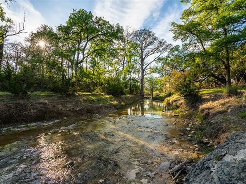 55 Acres+House-Hill Country Land : Comfort : Kendall County : Texas