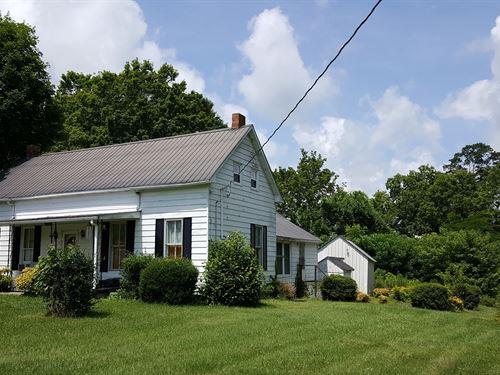 Older Home, Beautiful Quiet : Edmonton : Metcalfe County : Kentucky