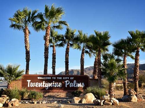 City Lot 29 Palms, Great Investment : Twentynine Palms : San Bernardino County : California