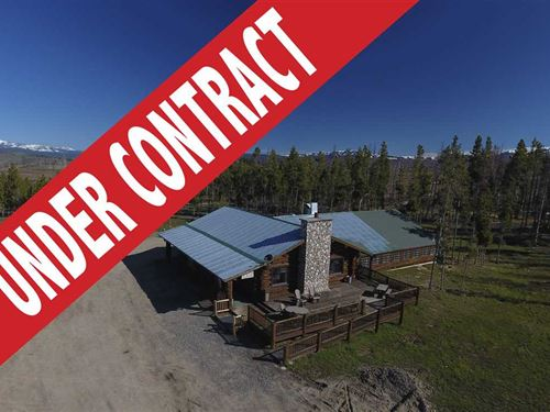 Under Contract, Crooked Creek Gues : Dubois : Fremont County : Wyoming
