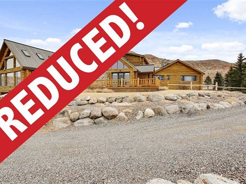 Reduced Only $114/Sf Custom Lodg : Dubois : Fremont County : Wyoming
