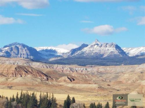 Picture-Perfect Views, Prime Locat : Dubois : Fremont County : Wyoming