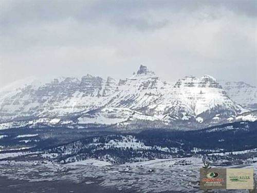 Pristine Mountaintop Building Site : Dubois : Fremont County : Wyoming