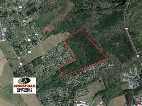 62 Acres of Residential Developmen : Franklin : Virginia