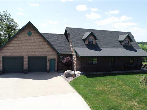 Wapello County Acreage For Sale : Blakesburg : Wapello County : Iowa