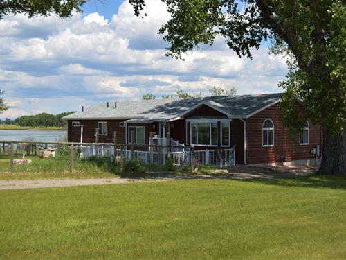 Ball River House : Cascade : Montana