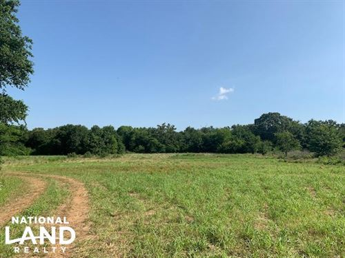 20 Acres Timber, Meadows, Pond, Wil : Eustace : Van Zandt County : Texas