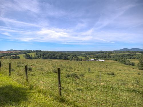 Working Farm Magnificent Views : Ennice : Alleghany County : North Carolina
