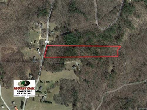 5 Acres of Residential Land For : Cumberland : Virginia