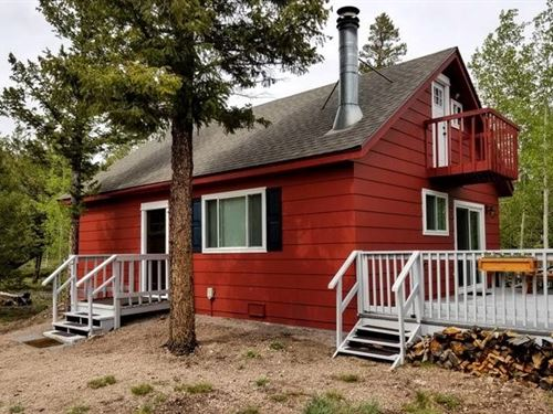 Northern Colorado Mountain Retreat : Red Feather Lakes : Larimer County : Colorado