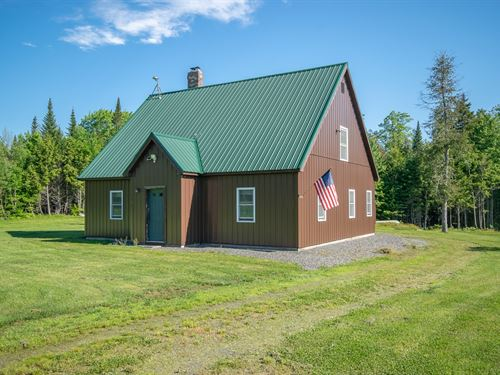 Off-Grid Home For Sale in Maine : Medford : Piscataquis County : Maine