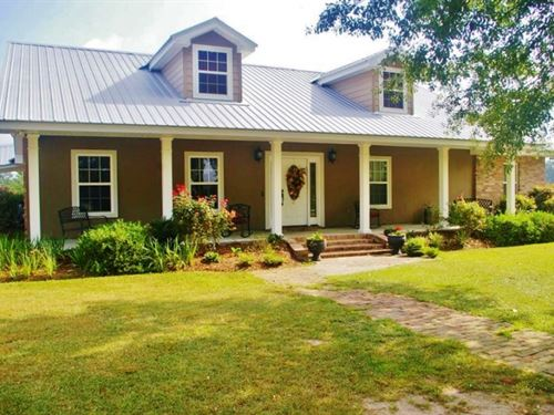 3 Bed, 2 Bath Home & 4 Acres Fo : Osyka : Pike County : Mississippi