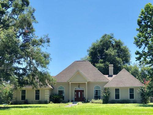 Equine Property, 4/3 Home 7.5 Acres : Newberry : Alachua County : Florida