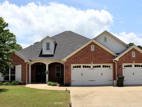 East TX Lakefront Home, Lake : Bullard : Cherokee County : Texas