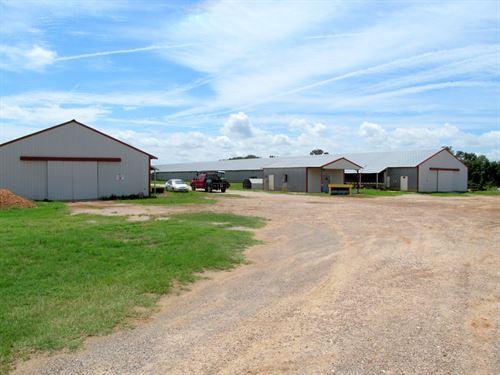 Poultry Farm, 20 Acres East Texas : Winnsboro : Franklin County : Texas