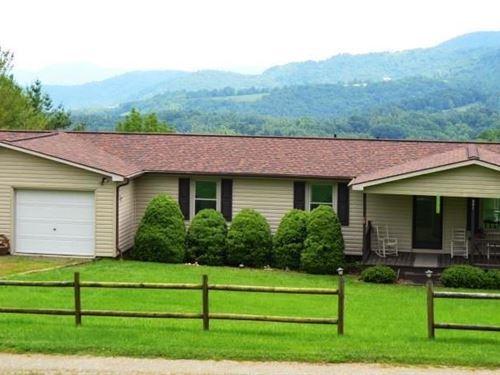 Mountaintop Home 20 Acres Grayson : Independence : Grayson County : Virginia