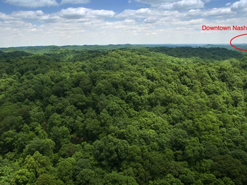 21 Acres 10 Minutes From Nashville : Ashland City : Davidson County : Tennessee