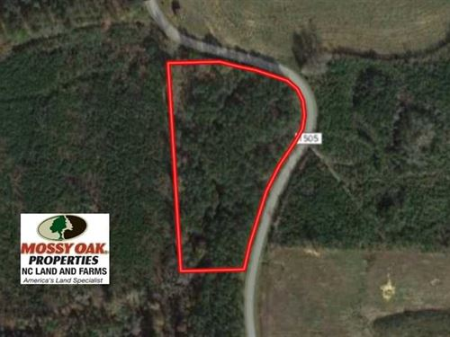 Reduced, 4.5 Acres of Residential : Littleton : Warren County : North Carolina