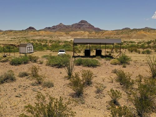Wild Horse Mountain Property : Terlingua : Brewster County : Texas