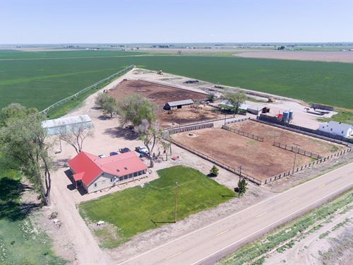 Isakson Irrigated Farm : Ault : Weld County : Colorado