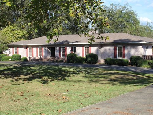 Residential Property In Clay Co : Lineville : Clay County : Alabama