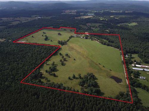 Beautiful 140 Acre Cattle Farm : Sims : Montgomery County : Arkansas