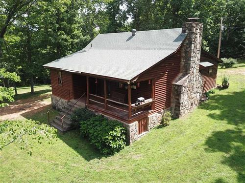 30 Acres With Cabin, Creek, Se : Leslie : Searcy County : Arkansas