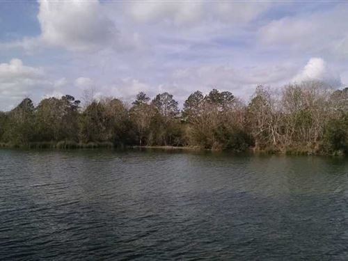 2.59 Acre Lake Front Home Site in : Folkston : Charlton County : Georgia