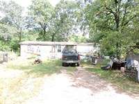 Mobile With 5 Acres M/L Dooley RD : Waldron : Scott County : Arkansas