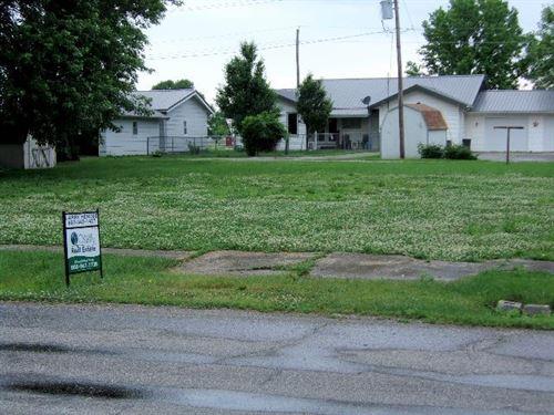 Bare Lot For Sale In Unionville, MO : Unionville : Putnam County : Missouri