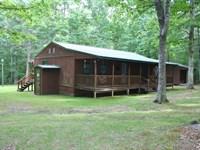 Cabin Bullpasture River Gorge : Williamsville : Highland County : Virginia