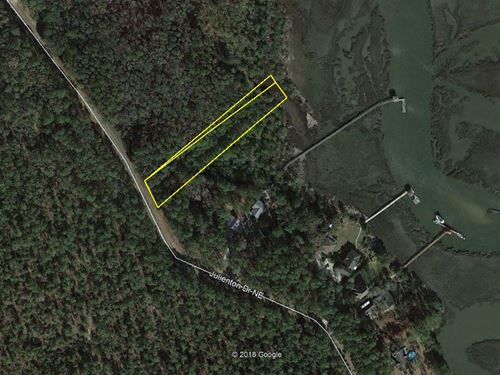Waterfront Residential Lot : Townsend : McIntosh County : Georgia