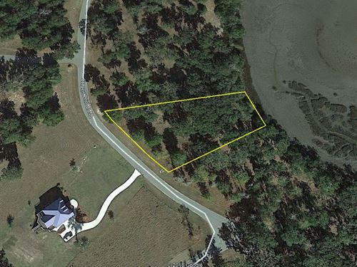 Marsh Front Lot : Townsend : McIntosh County : Georgia