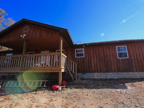 Country Home For Sale With Acreage : Gainesville : Ozark County : Missouri