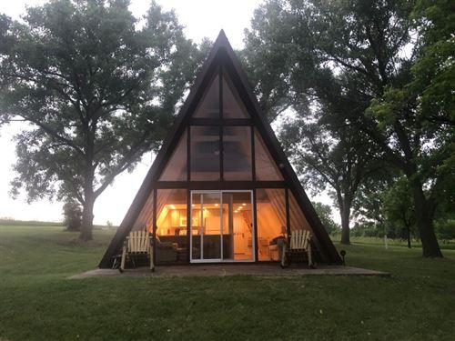 Medicine Creek Reservoir Cabin 4 : Cambridge : Frontier County : Nebraska
