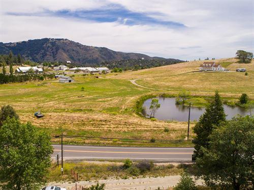 6 Acre View Parcel In Julian : Julian : San Diego County : California