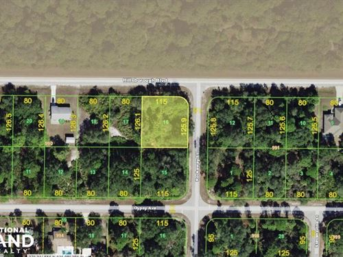 Awesome Lot in Port Charlotte : Port Charlotte : Charlotte County : Florida