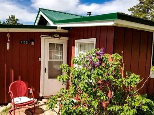 Cute Mountain Cabin Northern : Red Feather Lakes : Larimer County : Colorado