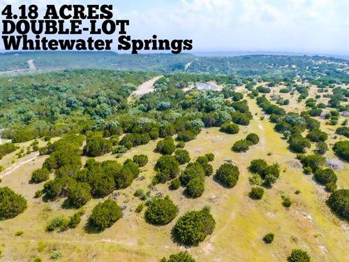 4.18 Acres In Burnet County : Bertram : Burnet County : Texas