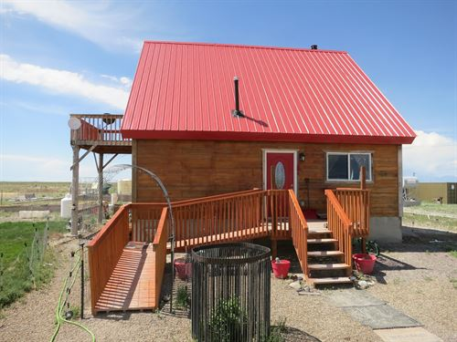 Mtn Cabin 160 Acres Bordering : Moffat : Saguache County : Colorado