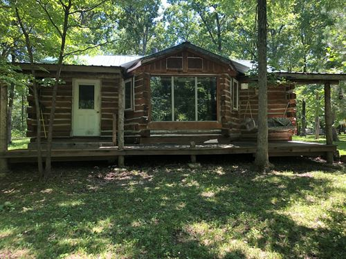 Cabin in The Woods : Stover : Morgan County : Missouri